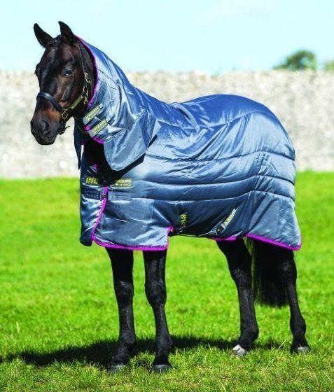 Horseware Amigo All-In-One Medium Weight 200G Insulator Rug Grey / Purple