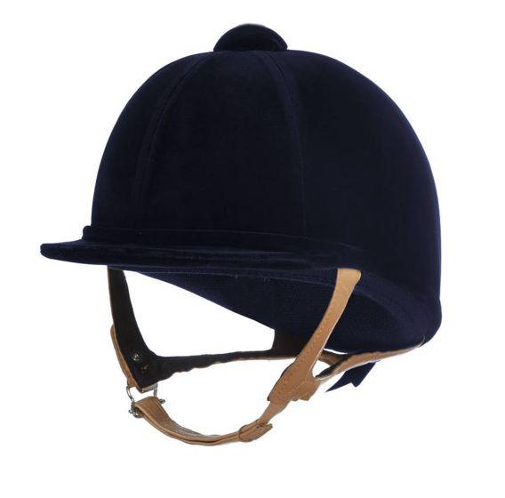 Charles Owen Showjumper XP Riding Hat Navy