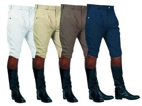 Mark Todd Mens Auckland Pleated Front Breeches