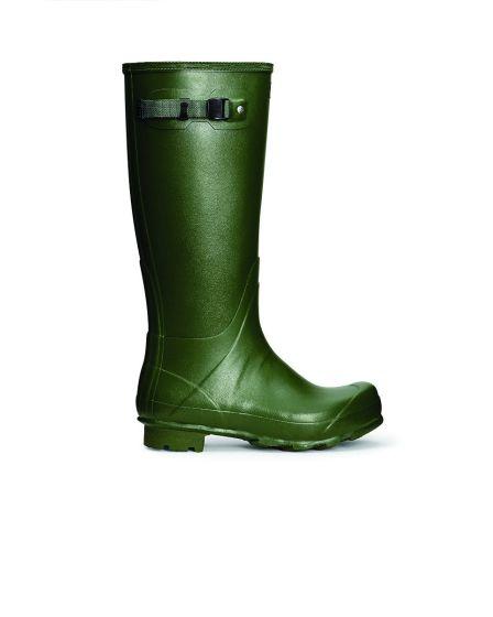 Hunter Mens Norris Field Boot Green