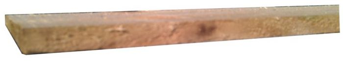 1.8m X 125mm Feather Edge Board Brown