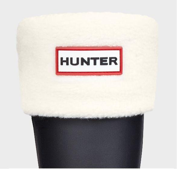 Hunter Kids Welly Sock Cream