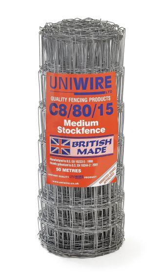 C8/80/15 Stock Fencing 200m