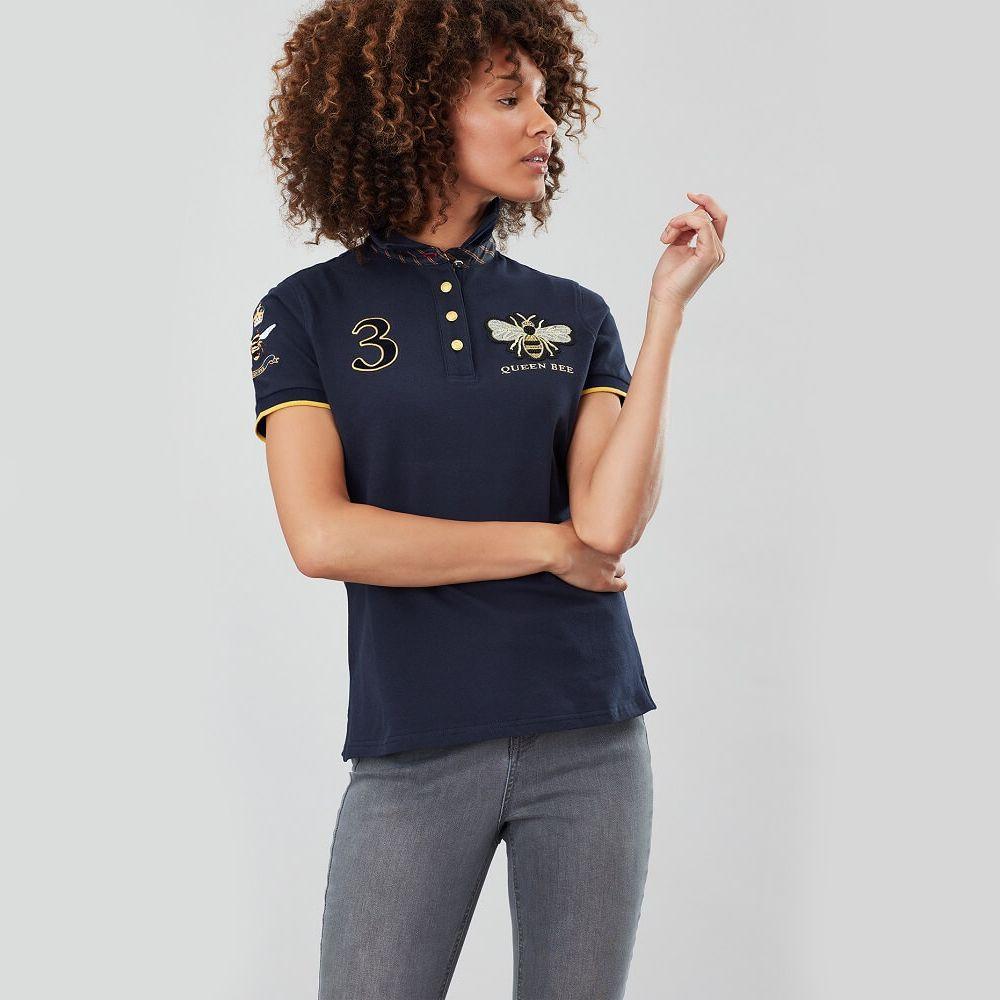 Joules Claredon Women/'s Polo Shirt