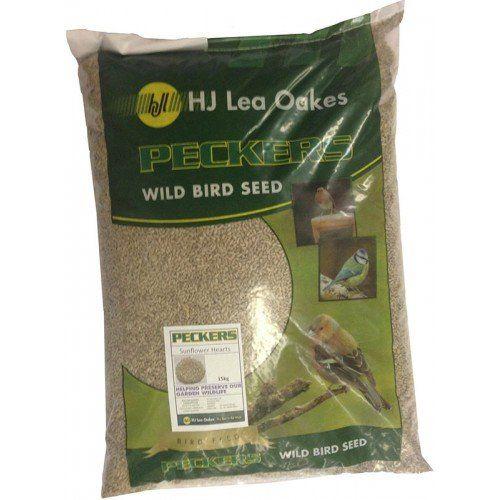 Peckers Sunflower Hearts Bird Seed 2.25kg