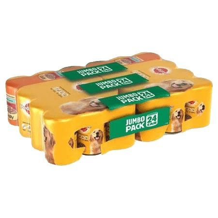 Pedigree Chum Mixed Chunks Jelly Pack of 24