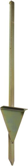 Rutland Electric Fencing Standard Mounting Post 86cm