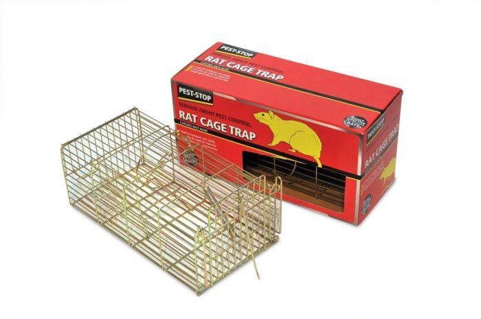 Pest-Stop Rat Cage Trap