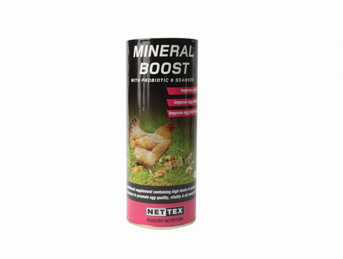 Nettex Mineral Boost with Probiotics and Seaweed 450g