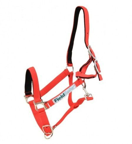 Horseware Field Safe Headcollar Red