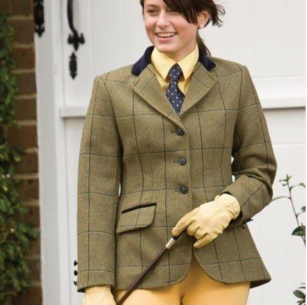 Equetech Kenton Maids Show Jacket Green