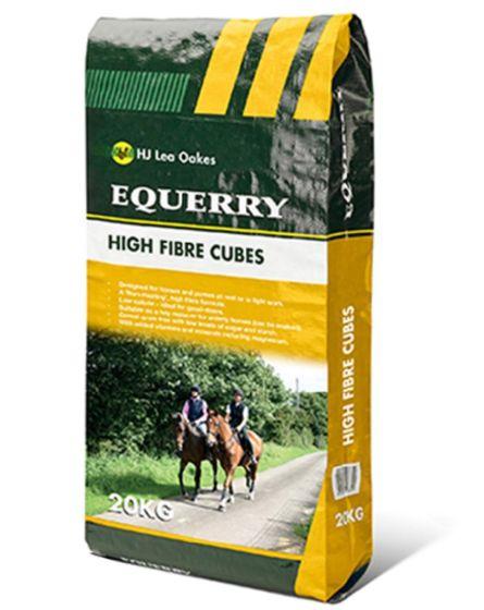 Equerry High Fibre Cubes Horse Feed 20kg
