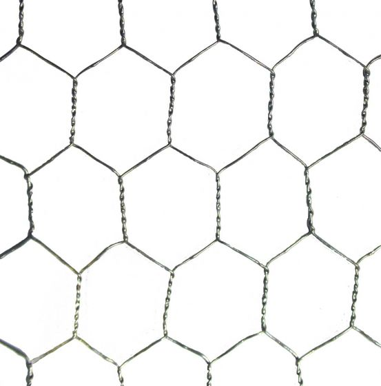 Poultry Wire Netting 1800mm X 25mm X 20G 50m