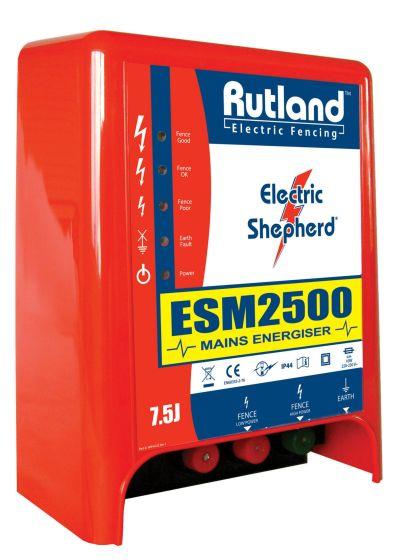 Rutland ESM2500 Mains Fence Energiser *Discontinued*
