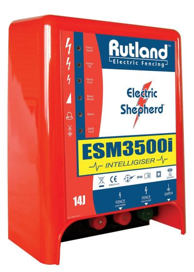 Rutland ESM3500I Intelligiser® Mains Fence Energiser-DISCONTINUED