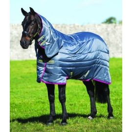 Horseware Amigo All-In-One Medium Weight 200G Insulator Rug Grey / Purple