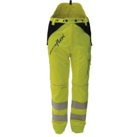 Arbortec Breatheflex Type A Class 1 Chainsaw Trousers Hi Vis Yellow