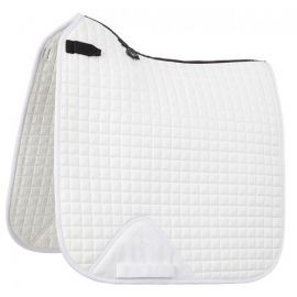 LeMieux ProSport Cotton Dressage Saddle Pad White