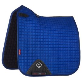 LeMieux ProSport Suede Dressage Square Saddle Pad Benetton Blue