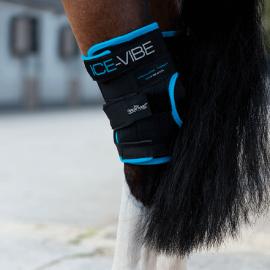 Horseware Ice-Vibe Hock Wrap Black