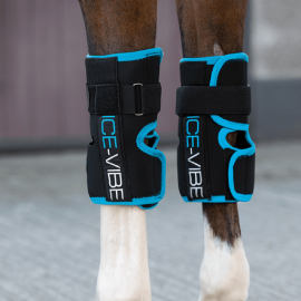 Horseware Ice-Vibe Knee Wrap Black