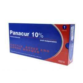 Panacur 10% Cattle, Sheep & Horse Wormer 1 litre