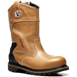 V12 Tomahawk Vintage Waterproof Safety Rigger Boots