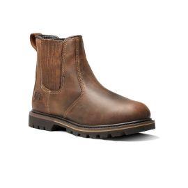 Rancher V1261 Full Grain Dealer Non Safety Boot Brown