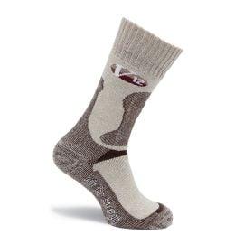 V12 Calf Length Fawn Flecked VSOK4 Socks