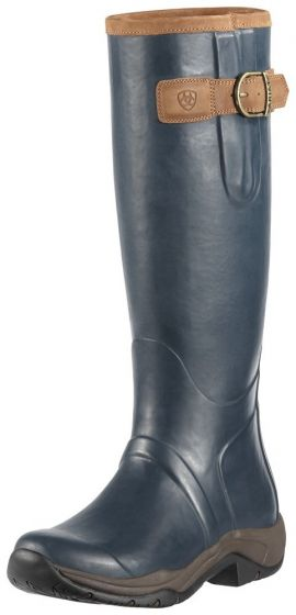 Ariat Ladies Storm Stopper Wellington Boots Navy