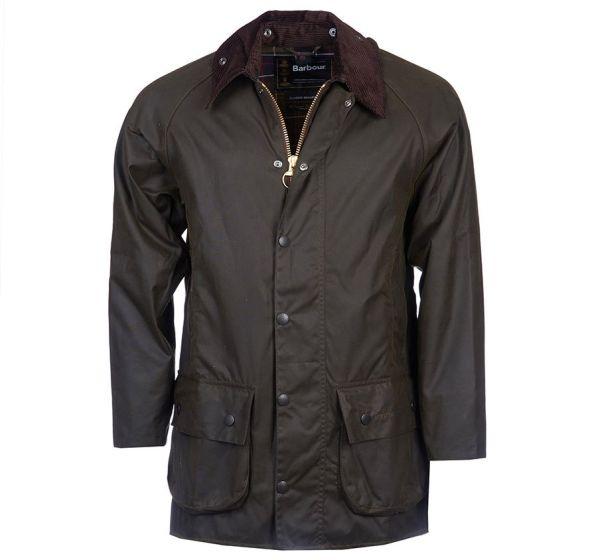 Barbour Mens Classic Beaufort Wax Jacket Olive