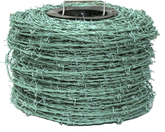 Barbed Wire Green 200m