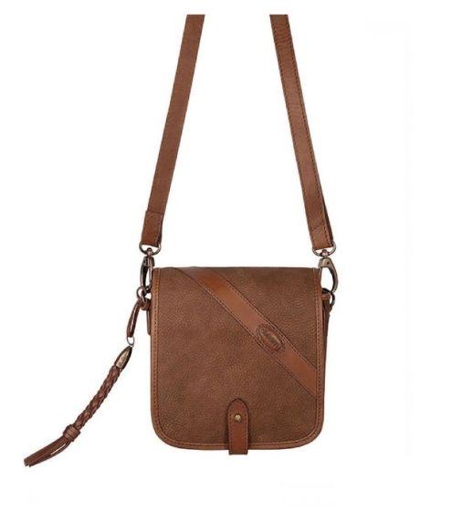 Dubarry Ladies Newgrange Shoulder Bag Walnut