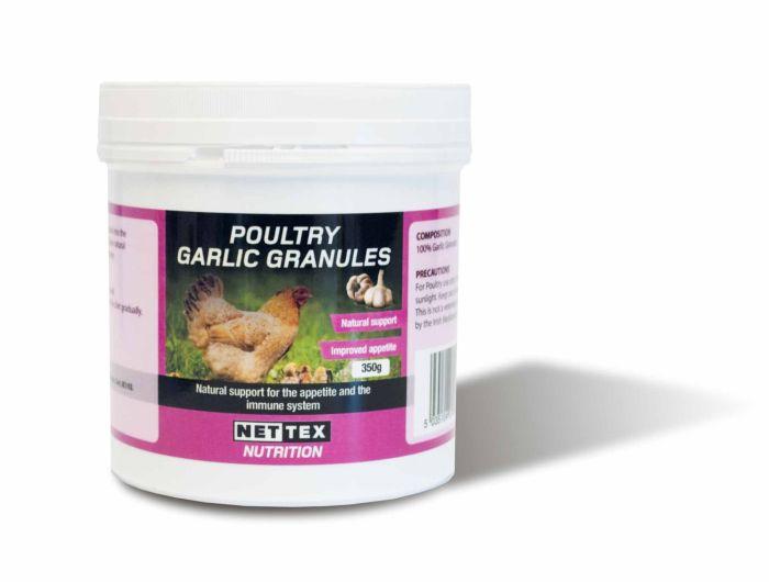 Nettex Poultry Garlic Granules 350g