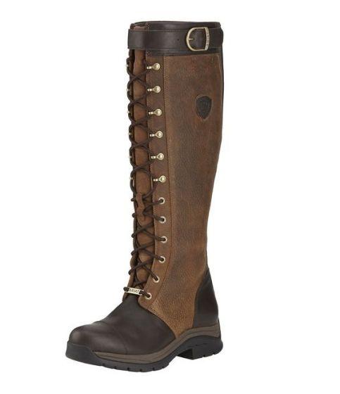 Ariat Ladies Berwick Country Boots Ebony