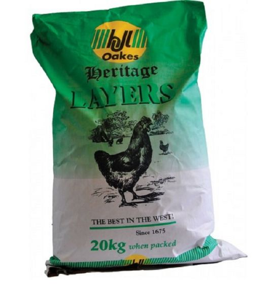 H J Lea Oakes Heritage Layers Meal 20kg