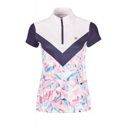 Dublin Ladies Orla Printed Colour Block Competition Shirt - Chelford Farm Supplies
