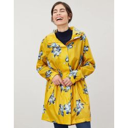 Joules Ladies Golightly Printed Waterproof Packaway Jacket