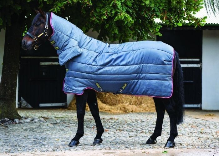Horseware Amigo All-In-One Heavy Weight 350g Insulator Rug Grey / Purple