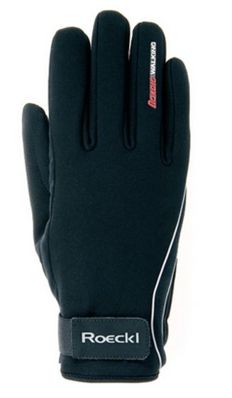 Roeckl Hyper Durability Riding Gloves Black