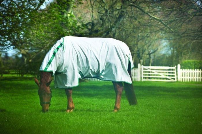 Horseware Amigo Aussie Allrounder Fly Rug White / Green