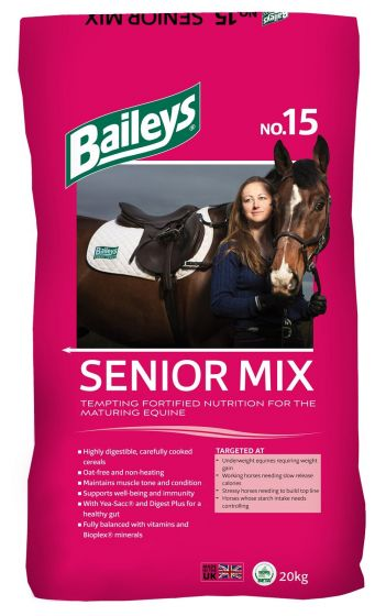 Baileys No.15 Senior Mix Horse Feed 20kg