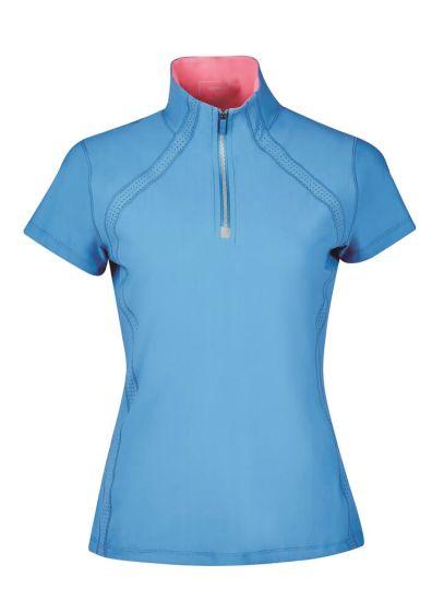 Dublin Ladies Maddison Short Sleeve Technical Airflow ¼ Zip Top - Chelford Farm Supplies