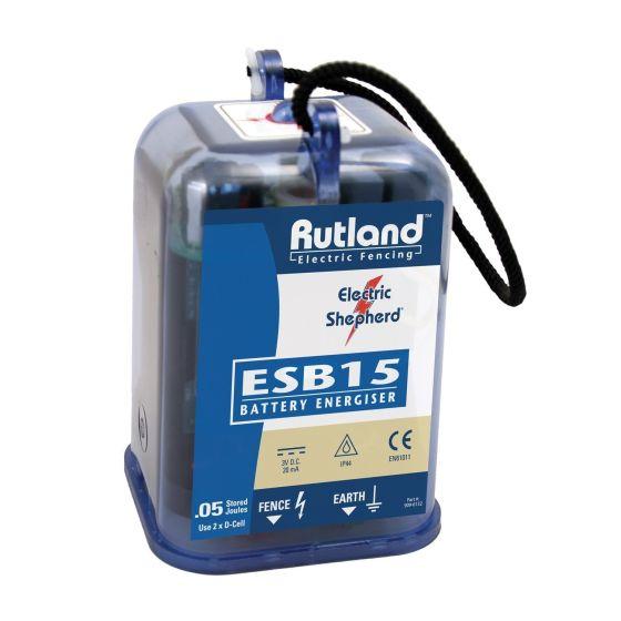 Rutland ESB15 Battery Fence Energiser