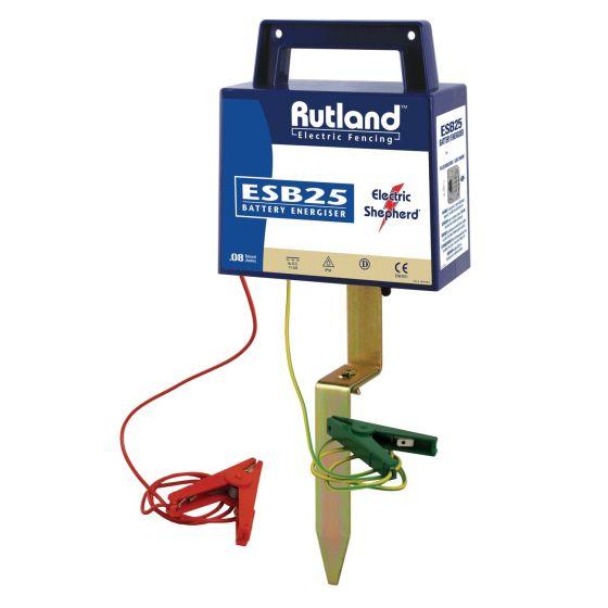 Rutland ESB25 Battery Fence Energiser-DISCONTINUED