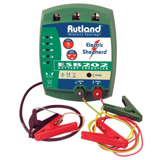 Rutland ESB202 Battery Fence Energiser-DISCONTINUED