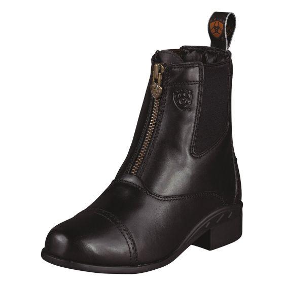 Ariat Kids Devon III Zip Paddock Boots Black