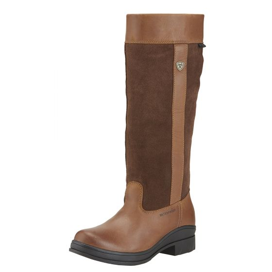 Ariat Ladies Windermere Country Boots Chocolate