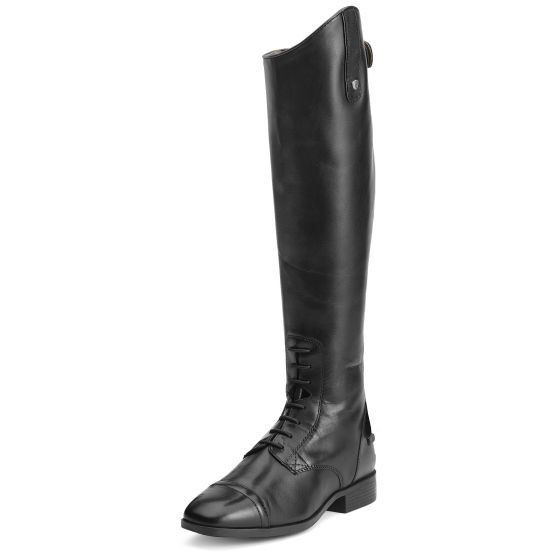 Ariat Ladies Challenge Contour Square Toe Zip Riding Boots Black