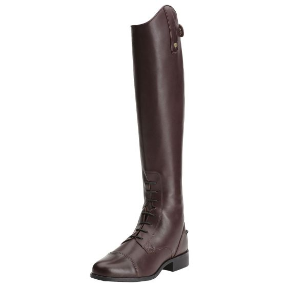 Ariat Ladies Heritage Contour Field Zip Riding Boots Sienna